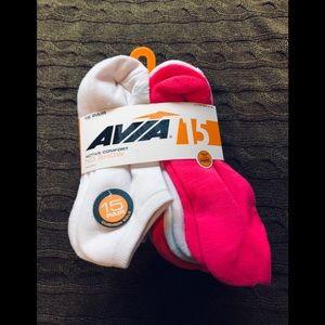 Avia no show active comfort 15 pair shoe size4-10